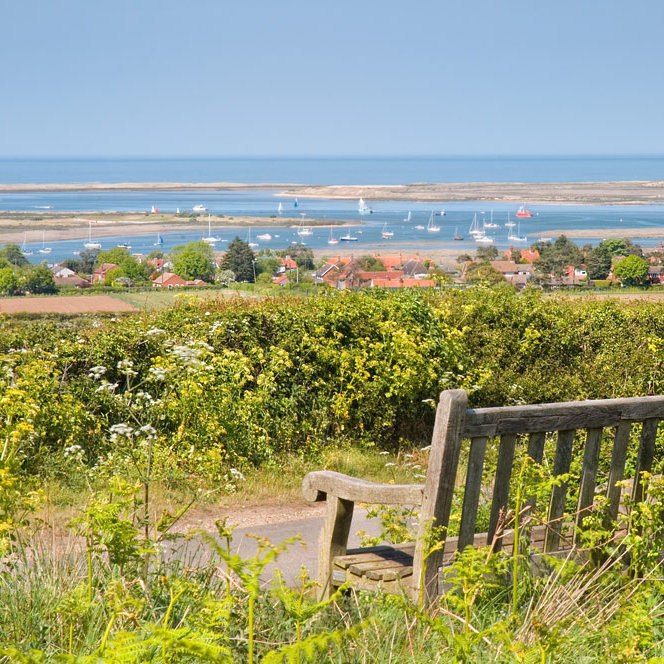 Barrow Common, Brancaster Staithe, Norfolk - Walking - Enjoy panoramic coastal views over Brancaster and sample the peace and quiet of Barrow Common. | Brancaster Staithe & Burnham Deepdale, North Norfolk Coast