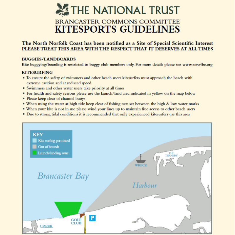 Kiting Guidelines, Brancaster Beach, Norfolk - Activities - The North Norfolk Coast has been notified as a Site of Special Scientific Interest.  PLEASE TREAT THIS AREA WITH THE RESPECT THAT IT DESERVES AT ALL TIMES | Brancaster Staithe & Burnham Deepdale, North Norfolk Coast